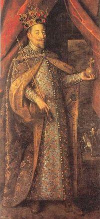 Корона святого Вацлава впервые упоминается с 1347-м года. Состоит из 4-элментов Флер де Лис.jpg