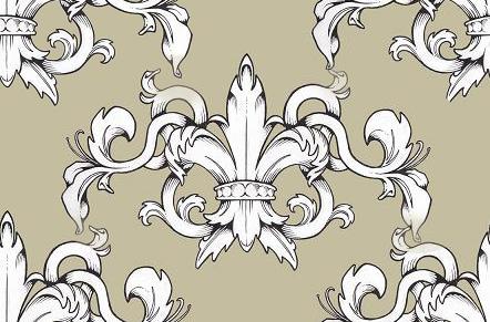 Флер де Лис орнаментальный элемент стиля