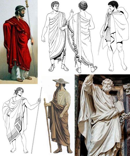 Древнегреческие и восточные одеяния